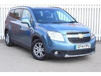 2014 Chevrolet Orlando 2.0 VCDi 163 LT 5 door Auto Diesel People Carrier