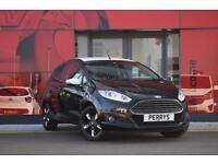 2016 Ford Fiesta 1.25 82 Zetec Black Navigation 3 door Petrol Hatchback