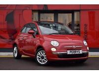2015 Fiat 500 1.2 Lounge 3 door [Start Stop] Petrol Hatchback