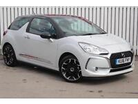 2016 Citroen DS3 1.6 BlueHDi Elegance 3 door Diesel Hatchback
