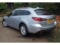 2016 Mazda 6 2.2d SE-L Nav 5 door Diesel Estate