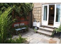 Lovely 2 double bedroom maisonette with private garden available for rent, near Shoreditch, E1.