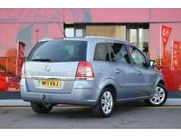 2011 Vauxhall Zafira 1.8i Elite 5 door Petrol People Carrier