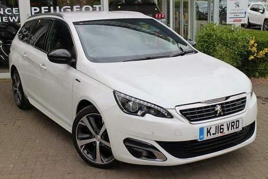 2016 Peugeot 308 Sw 2 0 Bluehdi 150 Gt Line 5 Door Eat6 Diesel Estate In Bletchley