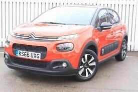2016 Citroen C3 1.6 BlueHDi 100 Flair 5 door Diesel Hatchback