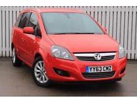 2013 Vauxhall Zafira 1.8i Design Nav 5 door Petrol People Carrier