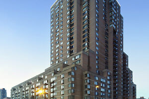 Sublease spacious LaCite apt(3 1/2 + ) in McGill ghetto downtown