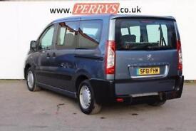 2011 Peugeot Expert Tepee 1.6 HDi L1 Comfort 5 door [6 seats] Diesel People Carr