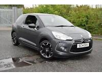 2014 Citroen DS3 1.6 e-HDi Airdream DStyle Plus 3 door Diesel Hatchback