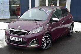 2015 Peugeot 108 1.2 VTi Allure 5 door Petrol Hatchback