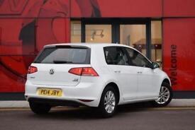 2014 Volkswagen Golf 1.6 TDI 105 S 5 door Diesel Hatchback