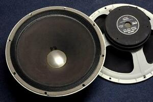 Vintage Altec 15 Inch 421A Speakers - Excellent