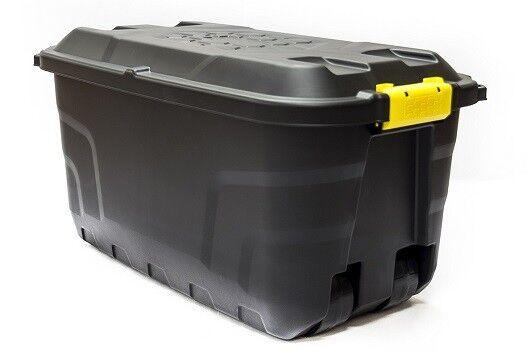 XXL Transportbox Lagerbox Rollbox Kissenbox Gartenbox Werkzeugbox Kiste 75 Liter
