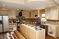 Carpentry and finishing services
