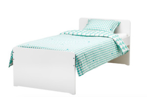 Ikea mattress and frame for sale