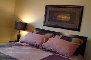 2 bedroom 1 bath executive suite. October 1