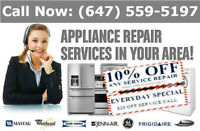 Appliance repair service. Lowest pricing...