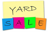 Yard Sale:  May 23, 279 Law Road, Off Highway 102 (Dawson Road)
