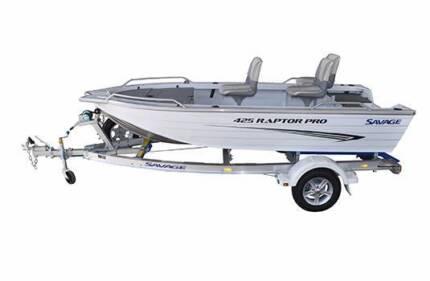 Savage Raptor Pro 425 Boat Package.