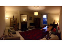 1 or 2 bedromed top floor flat on Lordship Park.