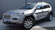 2014 Jeep Cherokee KL MY15 Limited Silver 9 Speed Sports Automatic Wagon Invermay Launceston Area Preview