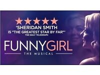 2 Funny Girl Tickets for Friday 24th March