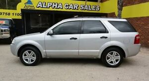 2005 Ford Territory SX Ghia Silver 4 Speed Automatic Wagon Upper Ferntree Gully Knox Area Preview
