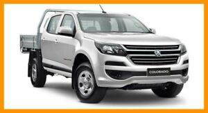 2019 Holden Colorado RG MY19 LS Crew Cab White 6 Speed Manual Cab Chassis Hillcrest Logan Area Preview