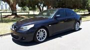 2009 BMW 520d E60 MY09 Dark Blue 6 Speed Auto Steptronic Sedan Southport Gold Coast City Preview