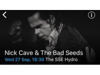 Nick Cave & The Bad Seeds, 2 x Standing tickets