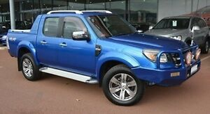 2010 Ford Ranger PK Wildtrak Crew Cab Blue 5 Speed Automatic Utility Gosnells Gosnells Area Preview
