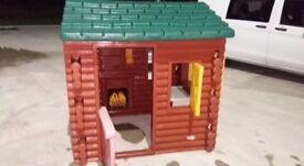 Little tikes log cabin RRP £419