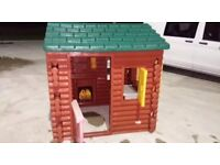 Little tikes log cabin RRP £419