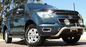 2014 Holden Colorado RG MY15 LT Crew Cab Silver 6 Speed Manual Utility Glendalough Stirling Area Preview