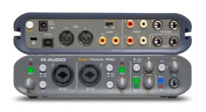 M-Audio Fast Track Pro Mobile USB Audio/MIDI Interface with