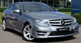 Mercedes-Benz C250 CDI Coupe 2.1 204ps Premium Plus 2014 AMG Sport Ed : 22k mi