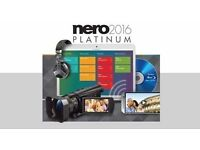 Nero 2017 Platinum Genuine BRAND NEW SOFTWARE FREE RECORDED DELIVERY