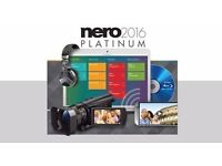 Nero 2017 Platinum Genuine BRAND NEW SOFTWARE FREE RECORDED DELIVERY