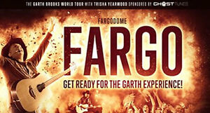 Garth Brooks In Fargo ND, Friday May 6th