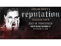 Taylor Swift Tickets below face £90 each fantastic view Friday night sold out gig