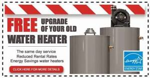 Hot Water Heater Upgrade - RENT TO OWN - FREE Installation - $0
