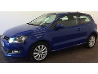 Volkswagen Polo 1.6TDI ( 90ps ) FROM £33 PER WEEK!