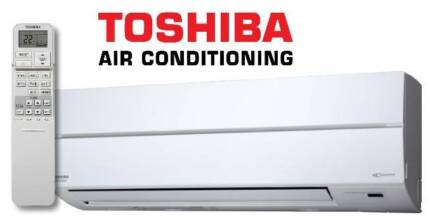 TOSHIBA 7.1kw RAS-24N Reverse Cycle: GREAT FOR LARGE LIVING AREAS