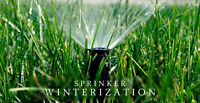 IRRIGATION WINTERIZATION / FALL CLOSING