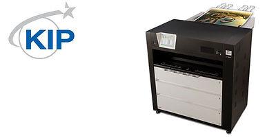Kip C7800 Color Wide Format Printer 3 Rolls