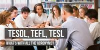 Open TESL Class Session