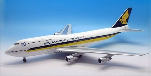 Inflight IF7430815 Singapore Airlines B747-300 Bigtop 9V-SKN Diecast 1/200 Model