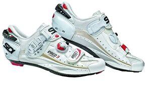 2012-Sidi-Ergo-3-Carbon-Vent-Polish-White-SPEEDPLAY-Sizes-40-47-10-Insured