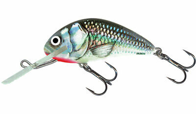 Salmo Hornet H3F SBR in Holographic Glow in Dark for Trout//Panfish//Crappie Lure