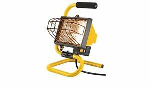 NOMA 500W Portable Halogen Work Lightgen Floodlight